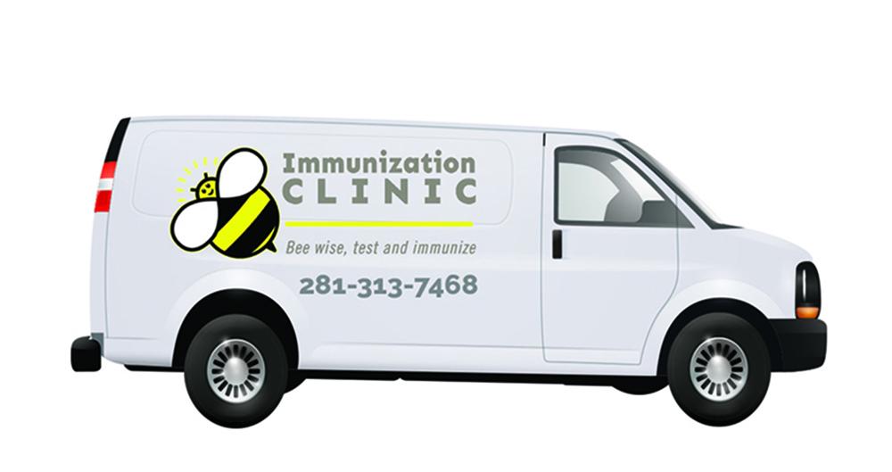 Houston Vaccines Mobile Van